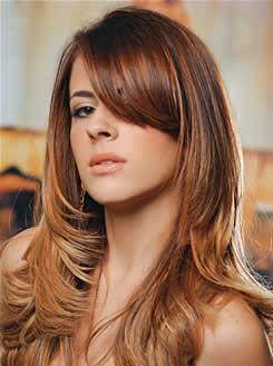 dicas de cortes para cabelos longos - Novos e modernos Cortes para cabelos longos para você se inspirar