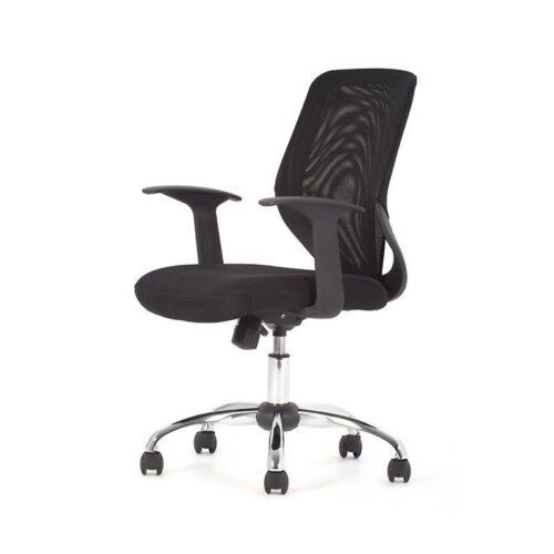 fotos de cadeiras de escritório giratórias 500x500 - Cadeiras de escritório giratórias confortáveis e resistentes