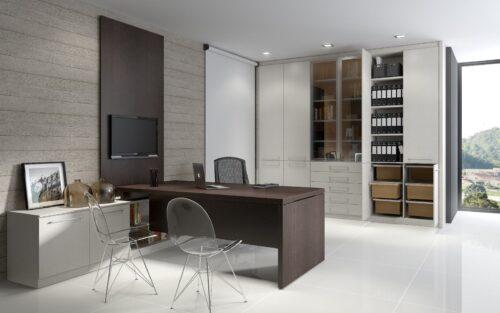fotos de mesas de escritório planejadas 500x313 - Mesas de escritório planejadas para ambientes diversos