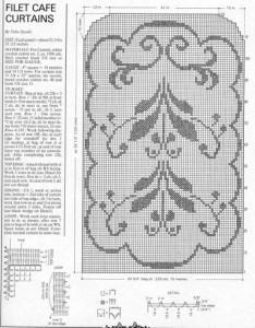 gráficos de crochê tapetes para imprimir 234x300 - Gráficos de Crochê Tapetes grandes e pequenos