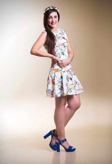 imagem 14 1 470x691 - Belos vestidos com ESTAMPA DE FLORES super lindos