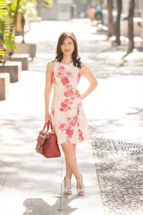 imagem 15 1 470x705 - Belos vestidos com ESTAMPA DE FLORES super lindos