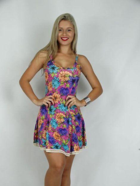 imagem 16 1 470x626 - Belos vestidos com ESTAMPA DE FLORES super lindos