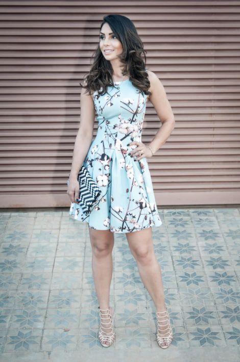 imagem 20 1 470x708 - Belos vestidos com ESTAMPA DE FLORES super lindos