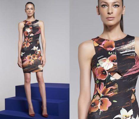imagem 22 1 470x403 - Belos vestidos com ESTAMPA DE FLORES super lindos