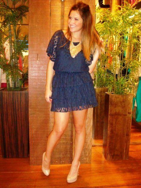 imagem 23 470x627 - Vestidos CURTOS DE RENDA para sair a noite e para festas