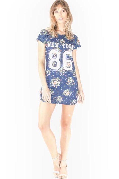 imagem 24 1 470x705 - Belos vestidos com ESTAMPA DE FLORES super lindos