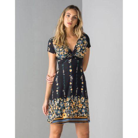 imagem 25 1 470x470 - Belos vestidos com ESTAMPA DE FLORES super lindos