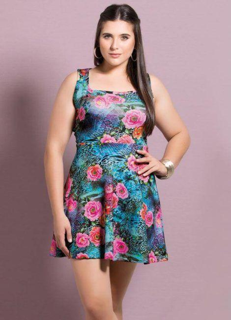 imagem 8 470x650 - Belos vestidos com ESTAMPA DE FLORES super lindos