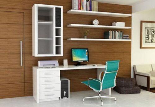 imagens de mesas de escritório planejadas 500x346 - Mesas de escritório planejadas para ambientes diversos