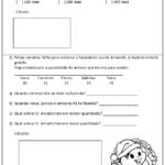 imprimir avaliação de matematica para 4 ano 150x150 - Avaliação de Matemática para 4 ano do nível fundamental