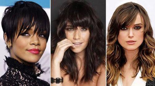 modelos de cortes de cabelo feminino com franja 500x277 - Como ficar mais jovem com cortes de cabelo feminino com franja