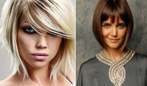 tipos de cortes de cabelo feminino com franja 500x292 - Como ficar mais jovem com cortes de cabelo feminino com franja