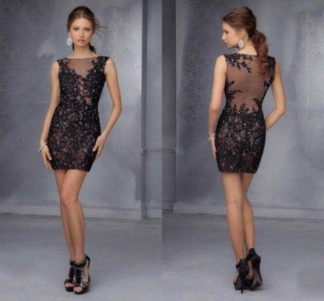 vestidos curtos de renda 11 470x436 - Vestidos CURTOS DE RENDA para sair a noite e para festas