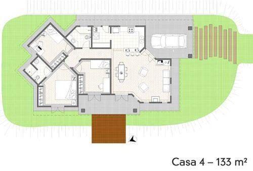 dicas de plantas de sobrados até 150 m² 500x339 - Plantas de sobrados até 150 m² para você se inspirar e imprimir