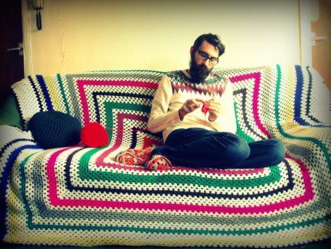 imagem 14 470x353 - MANTA de crochê para sofá decorativas