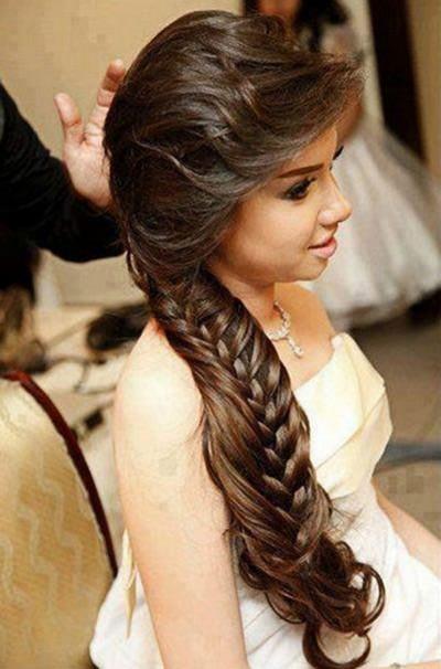 imagens de penteados com tranças laterais - Lindos Penteados com tranças laterais, aprenda fazer pois sempre caem bem