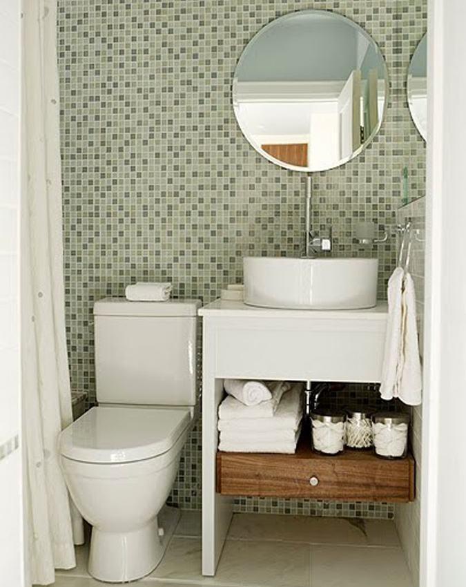 Pisos de banheiro pequeno e traducional mais muito bonitos - Ideas para pisos pequenos ...