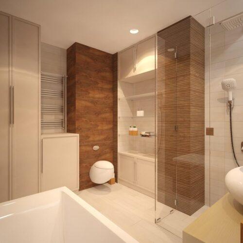 modelos de banheiros pequenos com porcelanato 500x500 - Banheiros pequenos com porcelanato dicas de construção e decoração