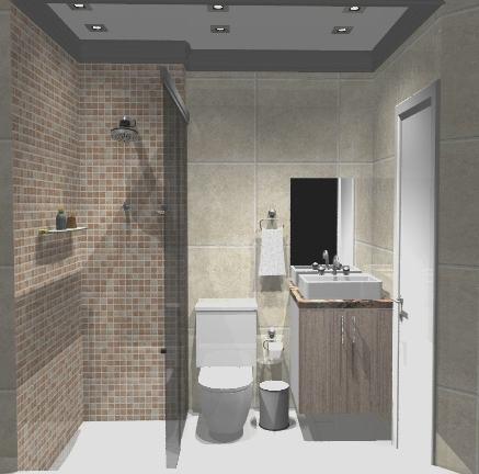 modernos banheiros pequenos com porcelanato - Banheiros pequenos com porcelanato dicas de construção e decoração