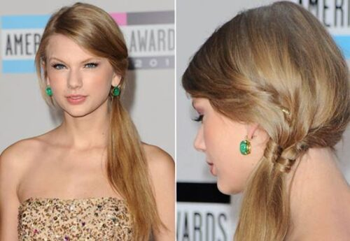 tendencias de penteados com tranças laterais 500x345 - Lindos Penteados com tranças laterais, aprenda fazer pois sempre caem bem