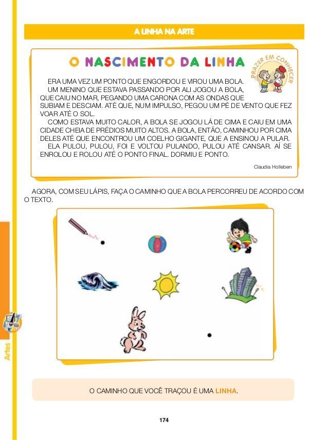 atividades de artes com linhas e curvas 1 - Atividades de artes com linhas para aprendizado infantil