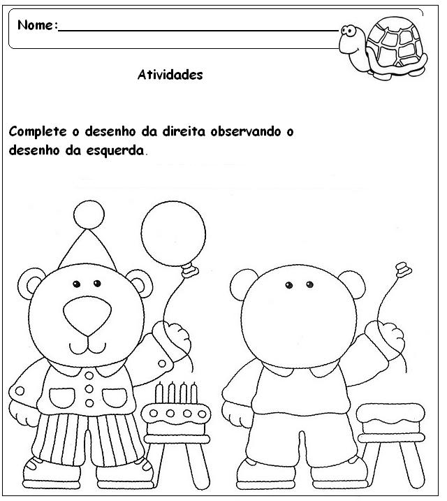 atividades de artes pr%C3%A9 escola para imprimir - Atividades de arte pré-escola que vão instigar o desenho de aprender