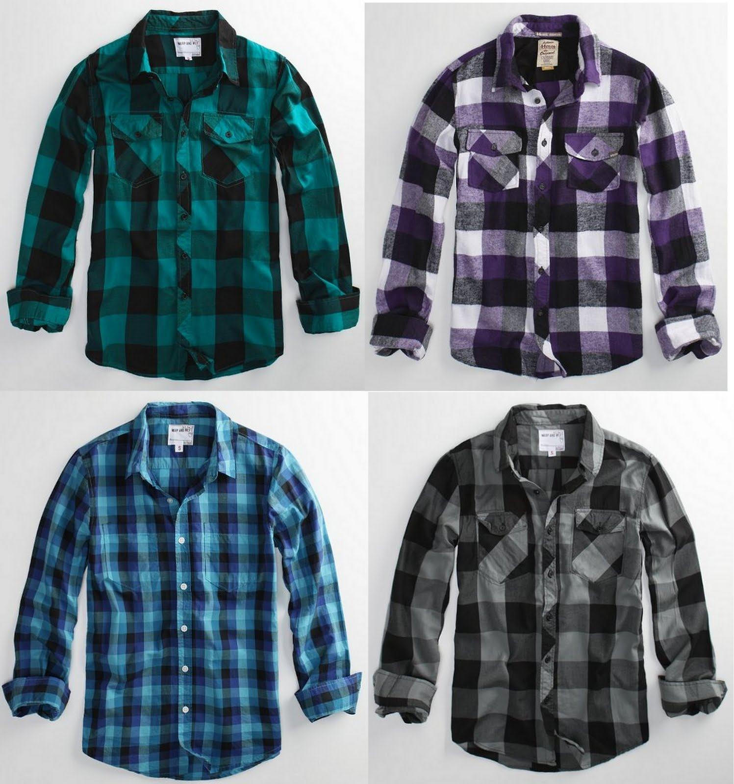 camisas de cores diferentes azul cinza verde e rosa com branco