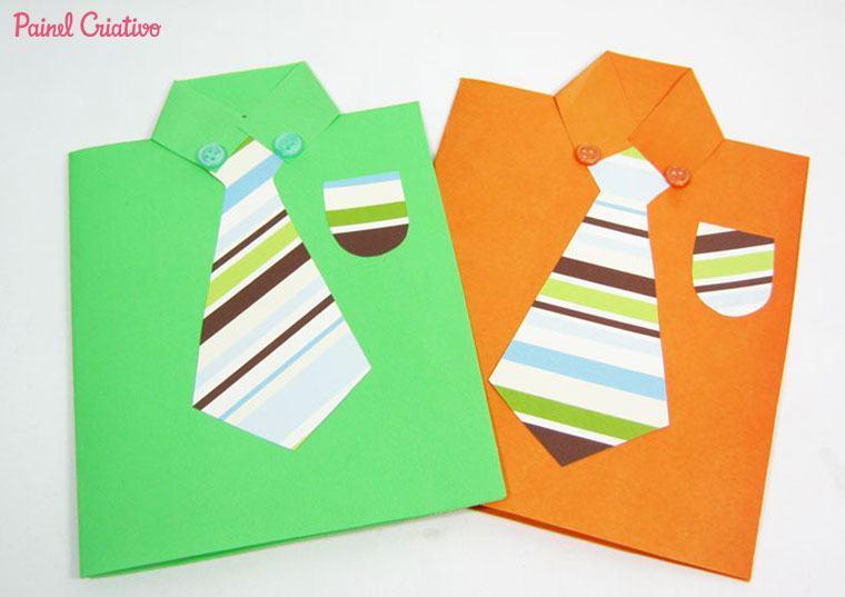cart%C3%A3o de dia dos pais para fazer na escola 2 - Cartão de Dia dos Pais para imprimir e oferecer para o paizão