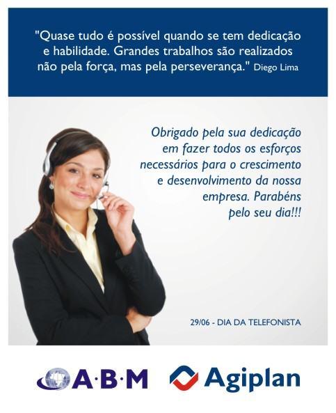 cart%C3%A3o para o dia da telefonista 1 - Frases para Dia da Telefonista valorize a profissional data 29 de junho