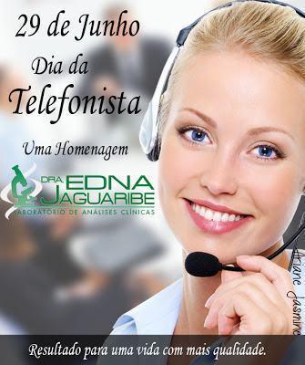 mensagens para o dia da telefonista 1 - Frases para Dia da Telefonista valorize a profissional data 29 de junho