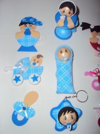 artesanato em eva para ch%C3%A1 de beb%C3%AA menino 2 333x444 - Lindos Artesanatos em EVA para chá de bebê