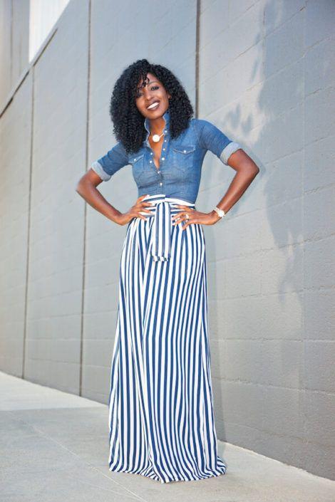 imagem 11 1 470x705 - Camisa jeans feminina Looks para usar a seu favor