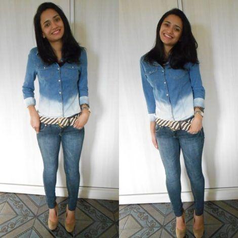 imagem 21 1 470x470 - Camisa jeans feminina Looks para usar a seu favor