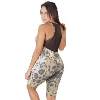 macacão suplex fitness estampados