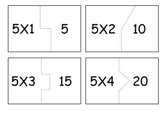 atividades da tabuada do 5 333x231 - Tabuada do 5 para colorir - Aprendizado com diversão