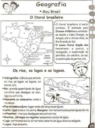 atividades de geografia para o 3o ano para imprimir