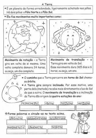 dicas de atividades de geografia para 3º ano