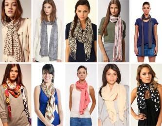 dicas de como usar cachecol feminino