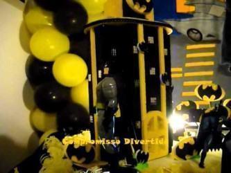 fotos de balões de aniversário do batman