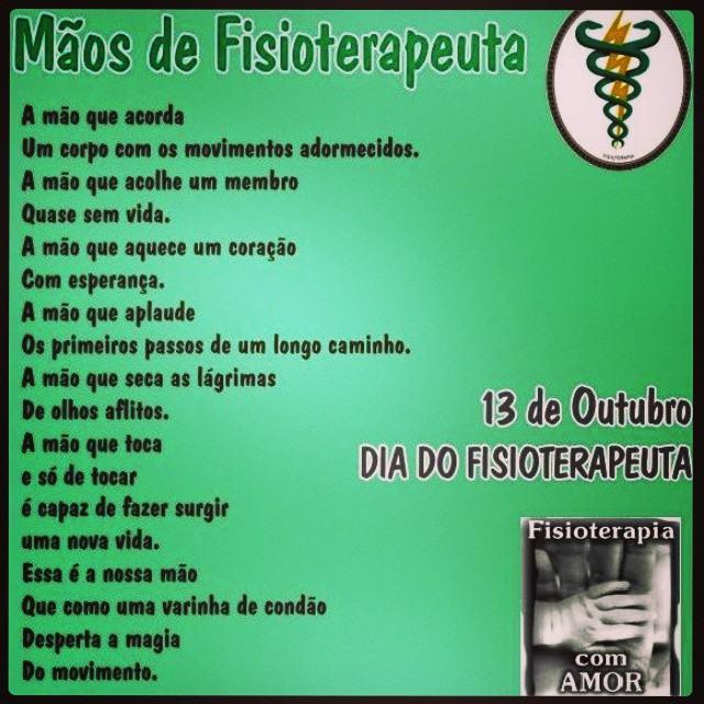 Favoritos Mensagens para o Dia do Fisioterapeuta 13 de outubro | Só Detalhe LD52