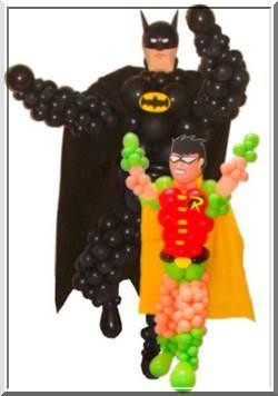 imagens de balões de aniversário do batman