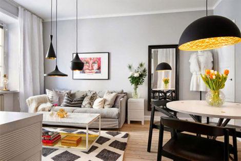 luminarias para sala de estar 12 470x313 - Lindas opções em LUMINÁRIAS para sala de estar