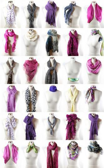 melhores jeitos de usar cachecol feminino