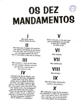 os 10 mandamentos de deus para imprimir 333x458 - Os 10 mandamentos de Deus - Será que Deus os anulou? Vamos estudar a bíblia