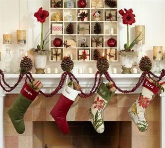tipos de decoração de natal
