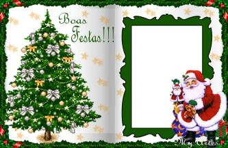 cart%C3%A3o de natal para imprimir 333x217 - Cartão de Natal para imprimir com espaço para deixar a sua mensagem