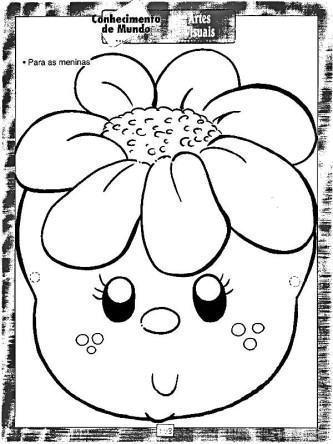desenhos da primavera para educação infantil para imprimir