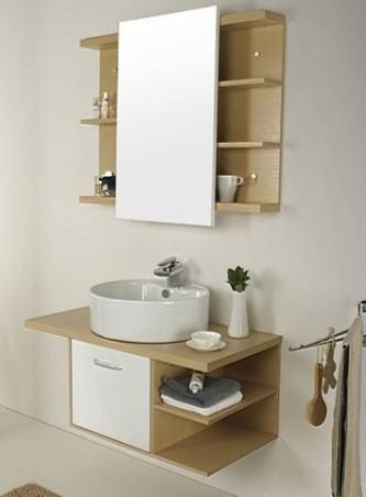 fotos de gabinete de banheiro pequeno