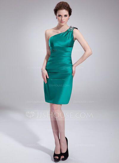 imagem 14 2 - Vestidos de UM OMBRO SÓ curtos e longos modelos super interessantes